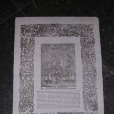 Arte: GRABADO RELIGIOSO NTRA.SRA. DE MONTSERRAT,S, XIX,IMPR. P. ROCA,MANRRESA,44X32 CM.,. Lote 24096583