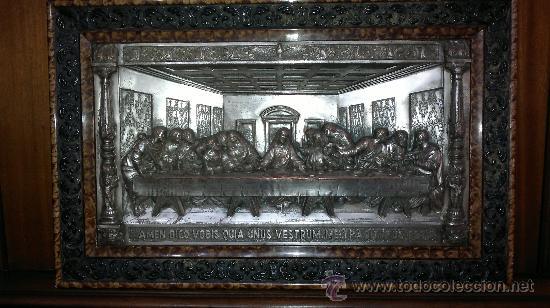 CUADRO DE LA SANTA CENA (Arte - Arte Religioso - Pintura Religiosa - Otros)