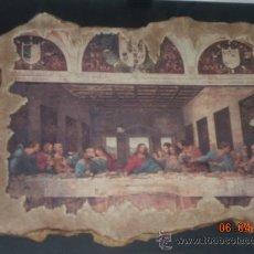 Arte: IL CENACOLO-S. MARIE DELLE GRAZIE-MILANO (LEONARDO DA VINCI) RECONSTRUCION DEL FRESCO. Lote 25074619