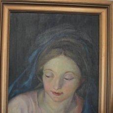 Arte: ÓLEO DE LA VIRGEN MARIA. Lote 33103042