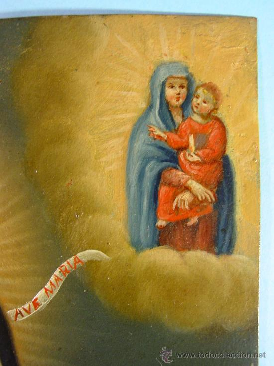 Arte: SAN SIMÓN DE ROXAS. OLEO SOBRE COBRE. SIGLO XVIII. - Foto 3 - 27279583