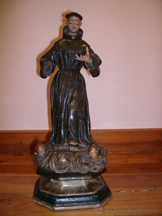 Arte: antigua talla de 40cms muy buena S.XVIII le falta una mano - Foto 4 - 26409455