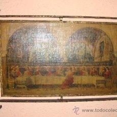 Arte: INTERESANTE OBRA DE DOMENICO GHIRLANDAIO TITULADA LA ULTIMA CENA (1480) SOBRE MADERA. Lote 26635275