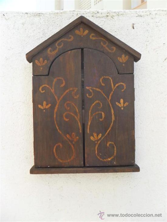 Arte: triptico de madera y lamina santa cena - Foto 5 - 47165617