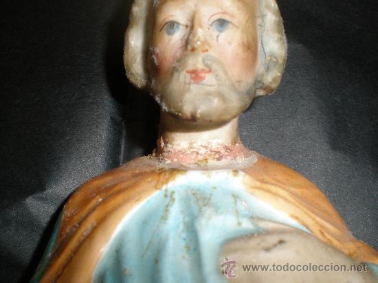 Arte: figura santo porcelana - Foto 4 - 27856249