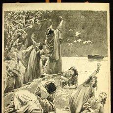 Arte: FRANZ GAILLIARD (BÉLGICA, 1861-1932) - NOÉ: DILUVIO UNIVERSAL. Lote 28365529