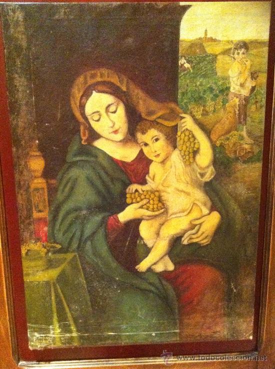 Arte: Oleo de la virgen de las Viñas - Foto 2 - 29668662
