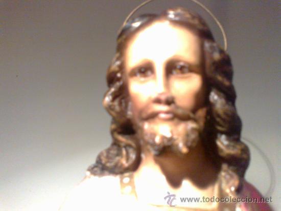 Arte: JESÚS ENTRONIZADO. ESCULTURA DE OLOT - Foto 9 - 29675160