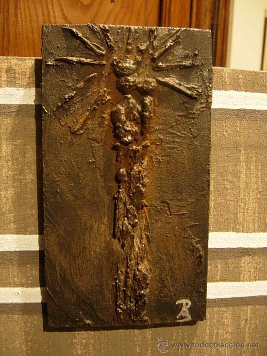 TABLA DE LA VIRGEN DEL PILAR MUY DECORATIVA HECHA POR LA ARTISTA PEPA BERDIE (Arte - Arte Religioso - Retablos)