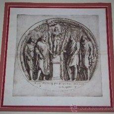Arte: GRABADO DEL SIGLO XVII FRANCISCO PERRIER. Lote 30044684
