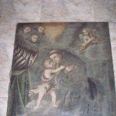 Arte: ESCUELA ESPAÑOLA SIGLO XVIII SAN ANTONIO DE PADUA. Lote 30104072