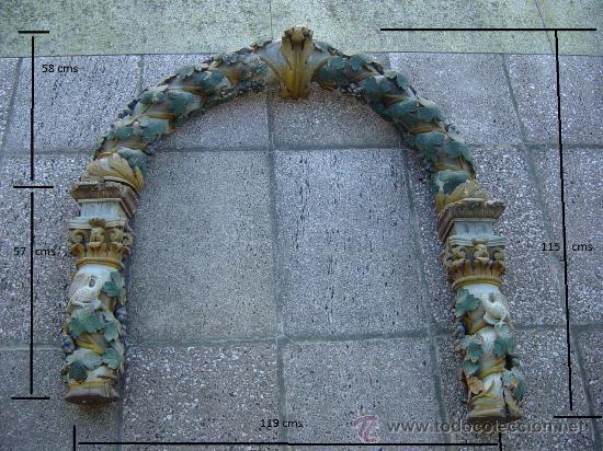 Arte: Arco de Retablo, principios séc XVIII - Foto 9 - 30243847