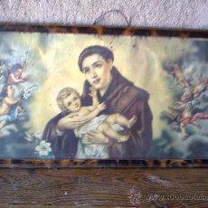 Arte: PRECIOSO CUADRO RELIGIOSO. Lote 30774636