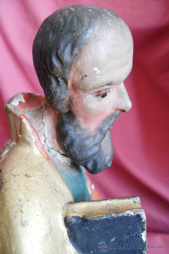 Arte: SAN PEDRO Y SAN PABLO SIGLO XVIII - Foto 3 - 30891013
