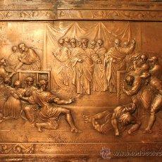 Arte: MAGNIFICO GRABADO SIGLO XIX 1821 EN COBRE LA MUERTE DE ANANIAS (BIBLIA NUEVO TESTAMENTO) POR HENNING. Lote 31038418