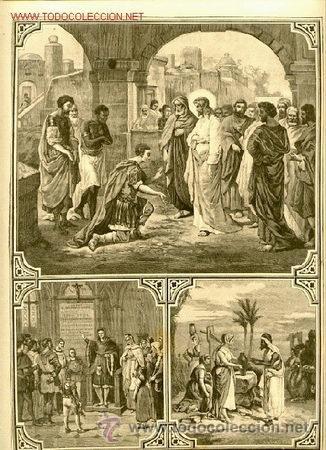 GRABADO RELIGIOSO: FINALES SIGLO XIX. DESCRIPCIÓN (Arte - Arte Religioso - Grabados)