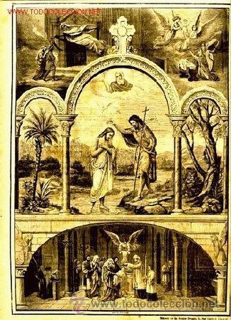 GRABADO RELIGIOSO: FINALES SIGLO XIX (Arte - Arte Religioso - Grabados)