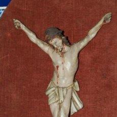 Arte: CRISTO MADERA POLICROMADA. S XVIII.. Lote 31111965