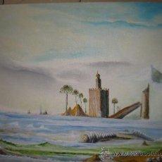 Arte: TORRE DEL ORO,SEVILLA VERSION LIBRE DEL AUTOR. Lote 31317620