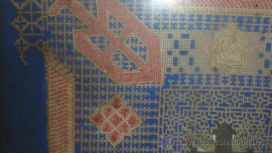 Arte: Antigua composicion religiosa de s.XIX. - Foto 3 - 31405830