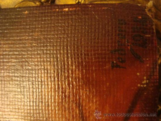 Arte: ANTIGUO Y MAGNIFICO pintura al OLEO CRISTO FIRMADO 1934 FEDERICO, 32 X 24 cm - Foto 4 - 32120879