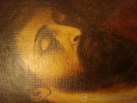 Arte: ANTIGUO Y MAGNIFICO pintura al OLEO CRISTO FIRMADO 1934 FEDERICO, 32 X 24 cm - Foto 3 - 32120879