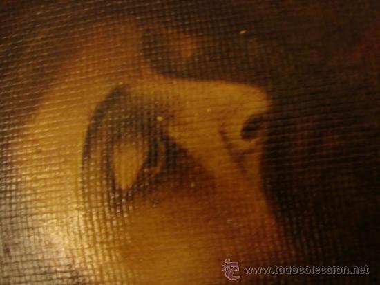 Arte: ANTIGUO Y MAGNIFICO pintura al OLEO CRISTO FIRMADO 1934 FEDERICO, 32 X 24 cm - Foto 6 - 32120879