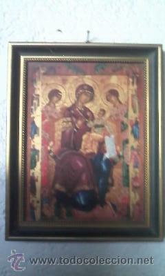 Arte: Precioso icono Virgen con el niño. en porcelana.VILLEROY & BOCH. EDICION LIMITADA Nº 1675/3000 - Foto 2 - 51758145