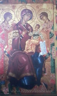Arte: Precioso icono Virgen con el niño. en porcelana.VILLEROY & BOCH. EDICION LIMITADA Nº 1675/3000 - Foto 3 - 51758145