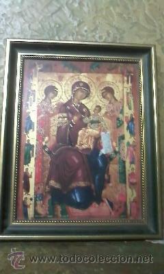 Arte: Precioso icono Virgen con el niño. en porcelana.VILLEROY & BOCH. EDICION LIMITADA Nº 1675/3000 - Foto 5 - 51758145