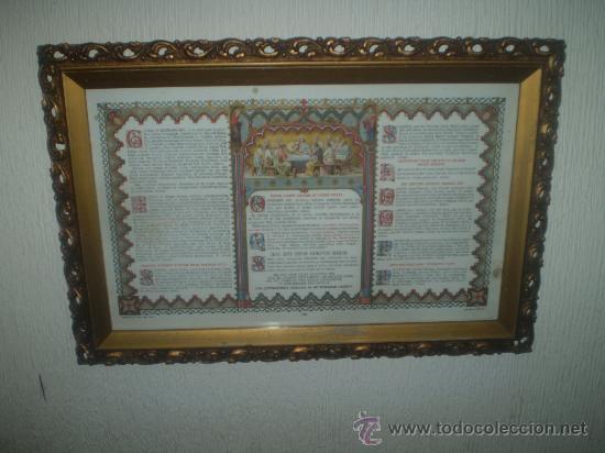 SACRA CON MARCO (Arte - Arte Religioso - Trípticos)