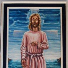 Arte: CRISTO - JESUS - JESUCRISTO - ASCENSION. Lote 32889616