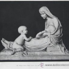 Arte: THE SLEEP OF THE CHILD JESUS, FROM THE SCULPTURE BY ANTOINE GARDET. Lote 32944820
