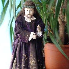 Arte: TALLA CAP I POTA DE JESÚS NAZARENO.SIGLO XVIII. Lote 33044296