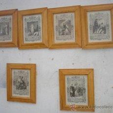 Arte: 6 PEQUEÑOS GRABADOS RELIGIOSOS. Lote 33438322