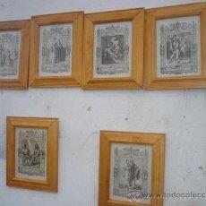 Arte: 6 PEQUEÑOS GRABADOS RELIGIOSOS. Lote 33438329