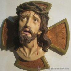 Jesús en Cruz marmolina
