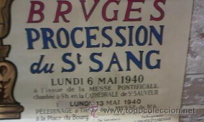 Arte: Litografía en colores impresos por La Lithographie Artistique, de Brujas. 1940 - Foto 4 - 33637825