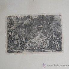 Arte: INTERESANTE GRABADO DE LA NATIVIDAD. Lote 34165145