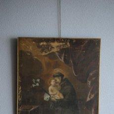 Arte: SAN ANTONIO, SIGLO XVII O XVIII. Lote 35173605