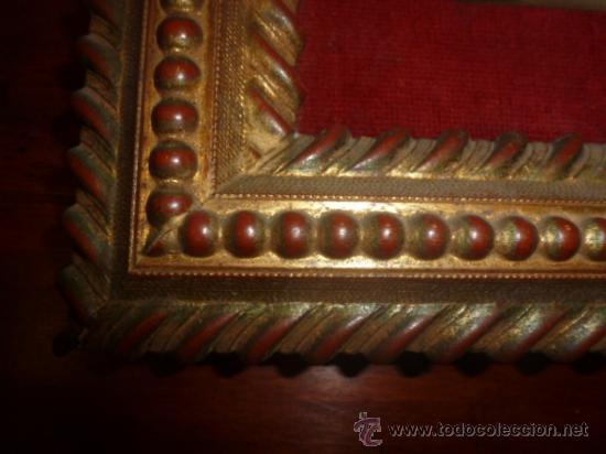 Arte: oleo sobre cobre virgen inmaculada - Foto 5 - 34645661