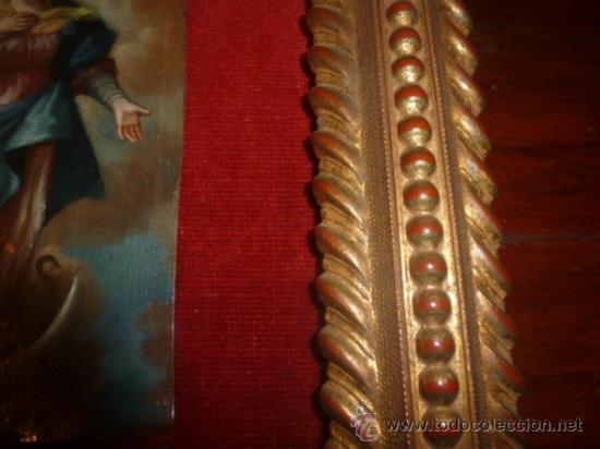 Arte: oleo sobre cobre virgen inmaculada - Foto 7 - 34645661