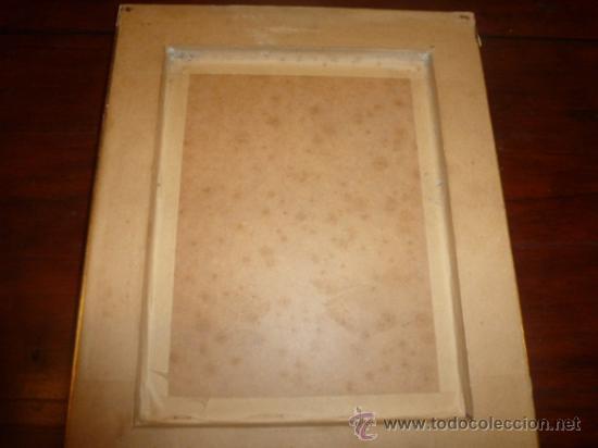 Arte: oleo sobre cobre virgen inmaculada - Foto 8 - 34645661