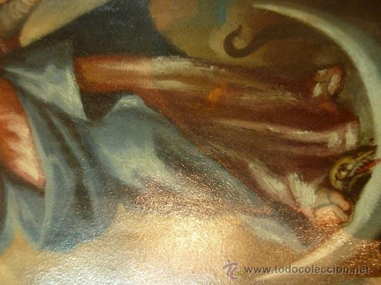 Arte: oleo sobre cobre virgen inmaculada - Foto 19 - 34645661