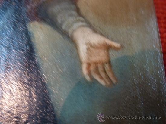 Arte: oleo sobre cobre virgen inmaculada - Foto 9 - 34645661