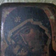 Arte: ICONO DE NUESTRA SEÑORA DE VLADIMIR, PRINCIPIOS DEL SIGLO XII.REPLICA DE LOS AÑOS 70.. Lote 34730098