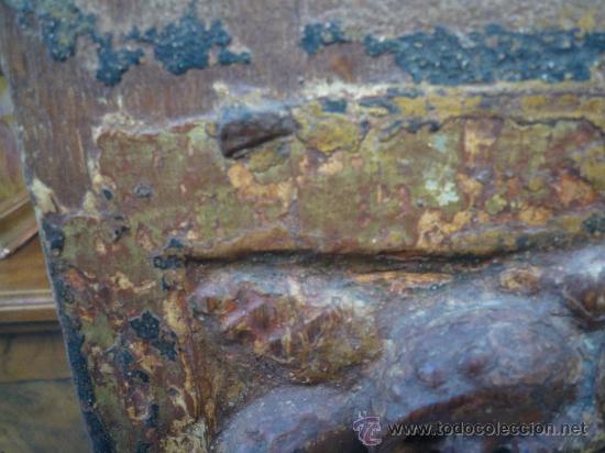 Arte: Tres tablas platerescas S. XVI, epoca Carlos V, talladas, piezas increibles, solo para entendios. - Foto 31 - 34650017