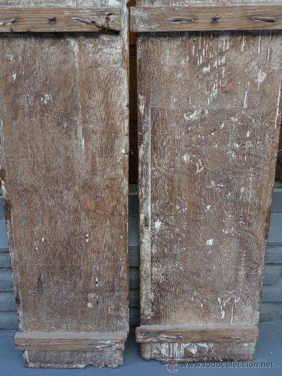 Arte: Tres tablas platerescas S. XVI, epoca Carlos V, talladas, piezas increibles, solo para entendios. - Foto 17 - 34650017