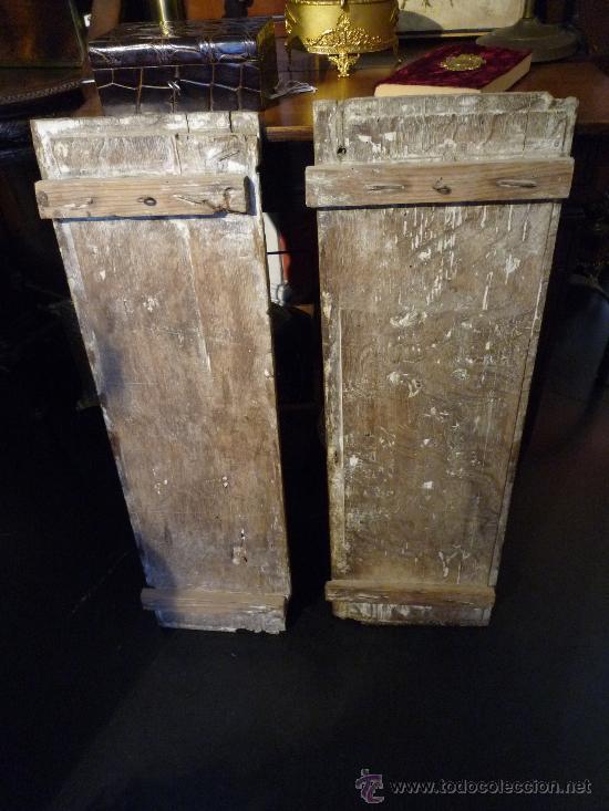 Arte: Tres tablas platerescas S. XVI, epoca Carlos V, talladas, piezas increibles, solo para entendios. - Foto 16 - 34650017