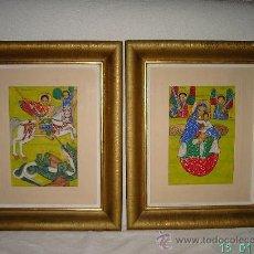 Arte: ICONOS ORIGINALES LALIBELA (ETIOPIA). Lote 35262758